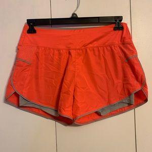 Danskin Bright Coral Exercise Shorts